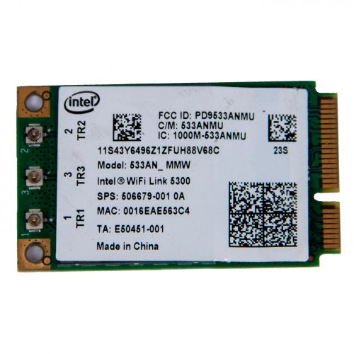 Intel Wireless WiFi 5100 PCIe Lenovo X200 X200s X301 T400 W500