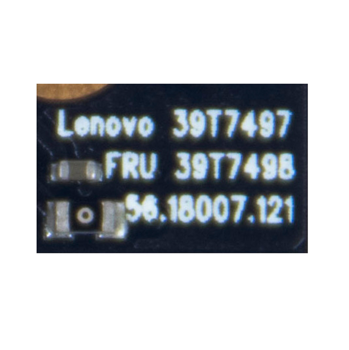 Kamera webcam Lenovo ThinkPad X200T X201T 39T7498