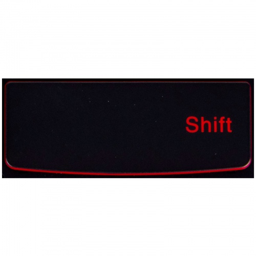 Klawisz SHIFT Lenovo Y530 Y540 red SN20R00011