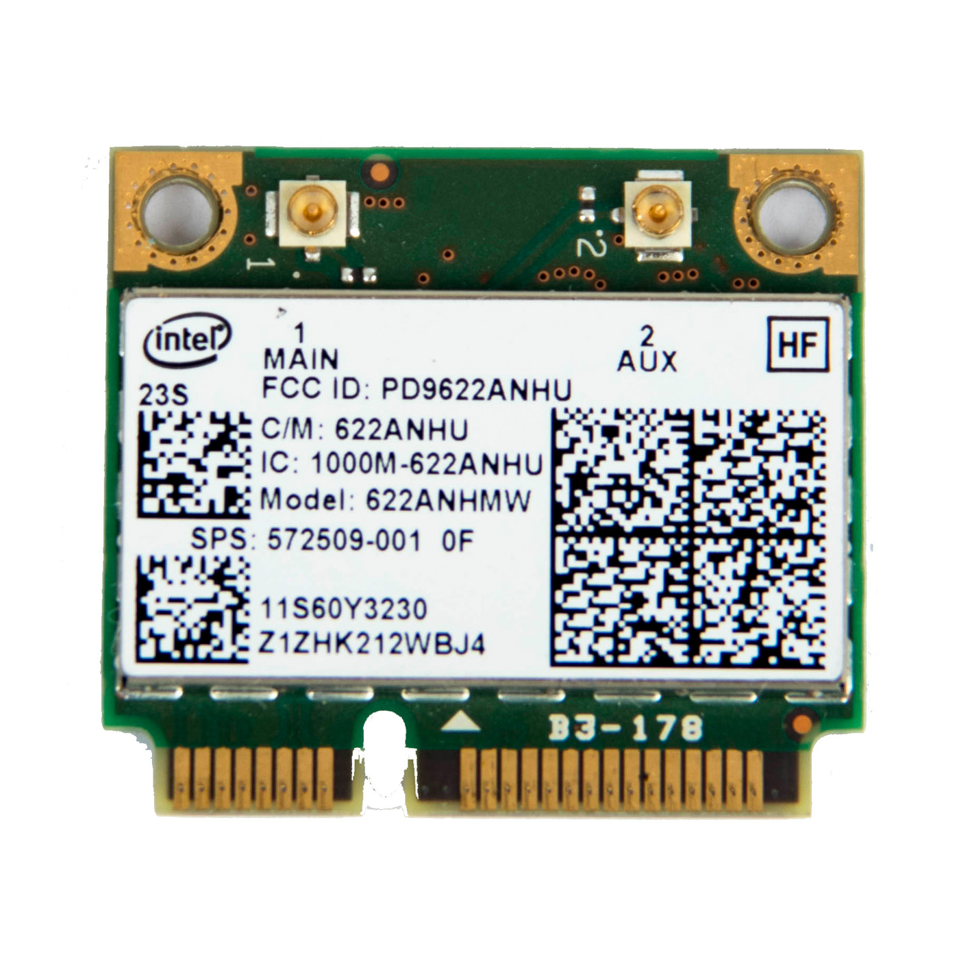 Moduł WiFi 6200 agn Lenovo ThinkPad T410 T510 W510 X201i X201 60Y3231